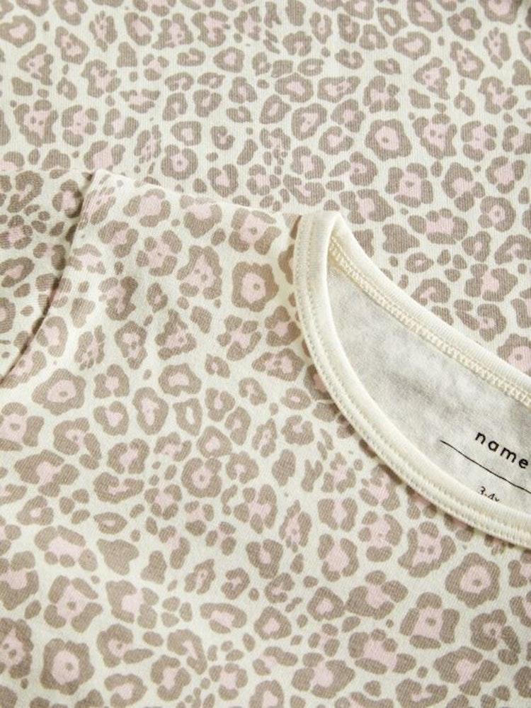 NAME IT - Pyjamas, leopardmönstrad