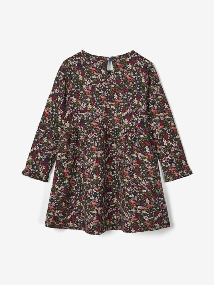 NAME IT - Blommig klänning