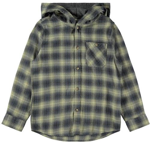 NAME IT - Rutig skjortjacka