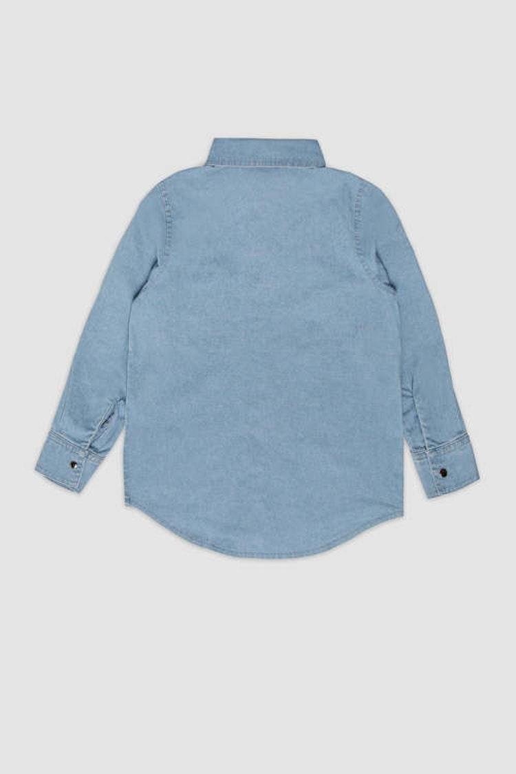 MINIKID ljusblå skjorta för barn