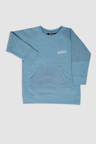 MINIKID - Sweatshirt Ljusblå