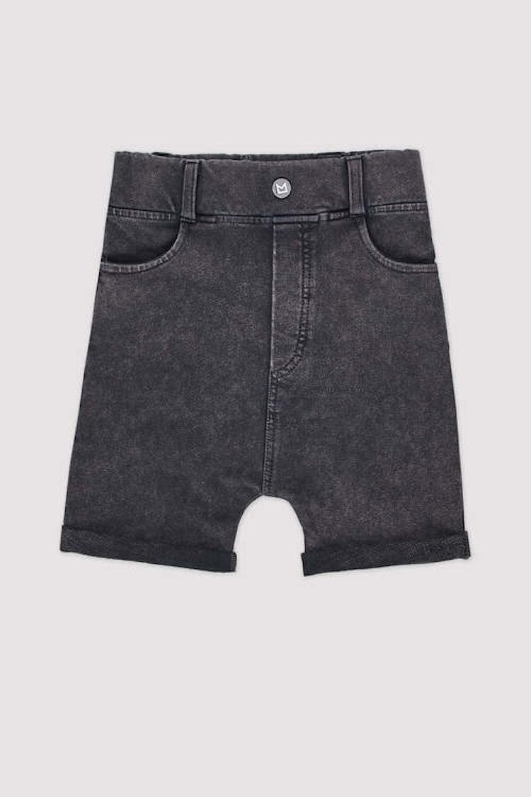 MINIKID svarta shorts för barn