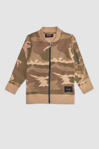 MINIKID - Bomberjacka Camouflage
