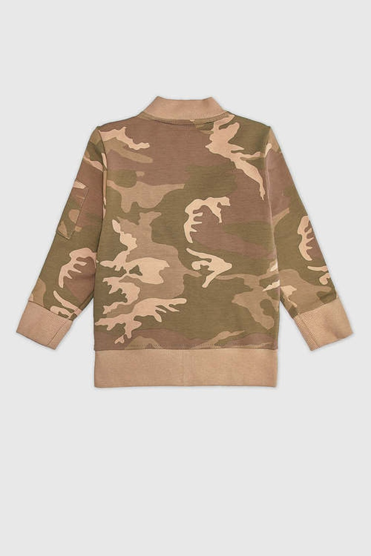 MINIKID bomberjacka camouflage för barn