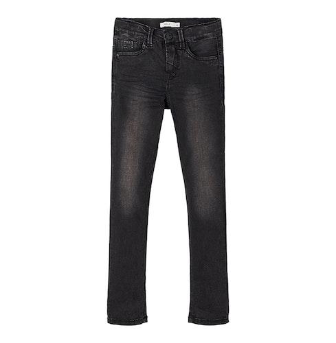 NAME IT - Gråsvarta jeans