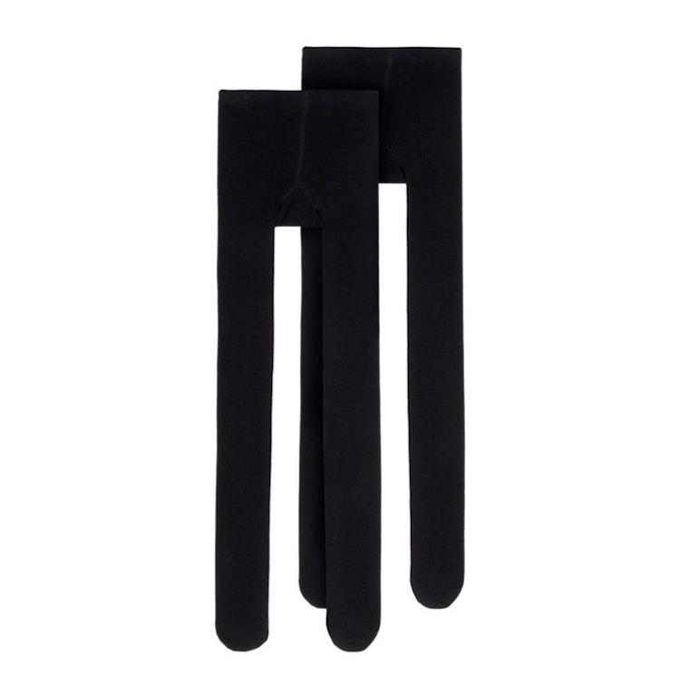Svarta strumpbyxor, 2-pack från NAME IT