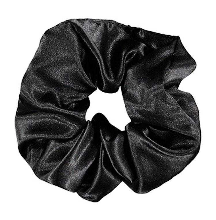 Svart hårsnodd - scrunchie från NAME IT