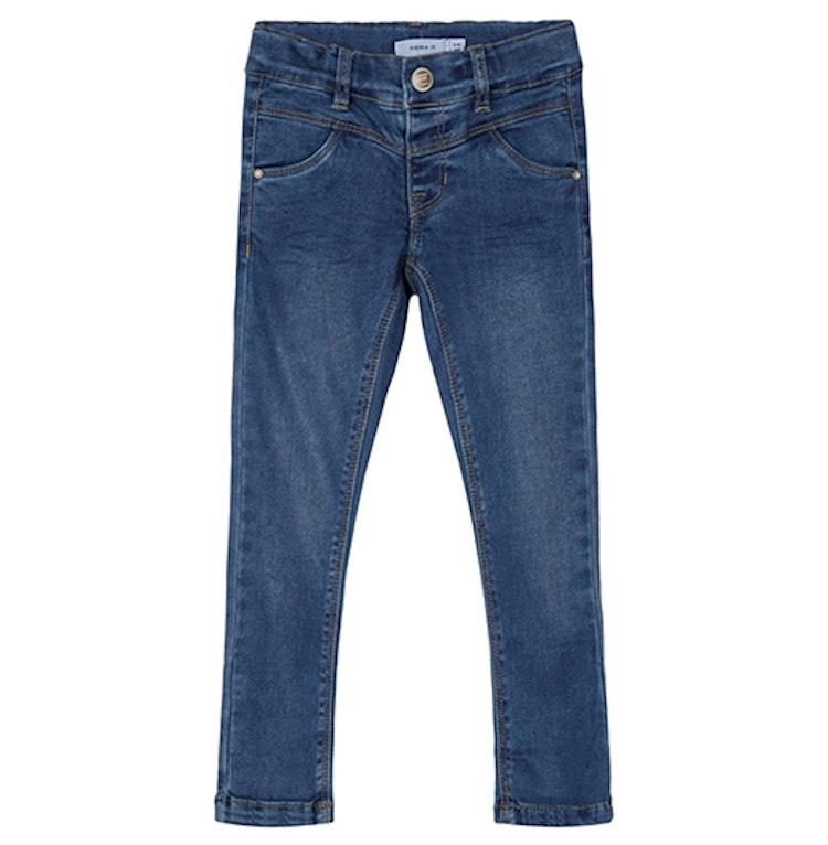 Mörka jeans med stretch från NAME IT