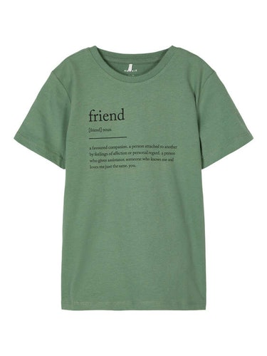 NAME IT - T-shirt FRIEND, DIVERSITY