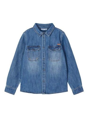 NAME IT - Jeansskjorta