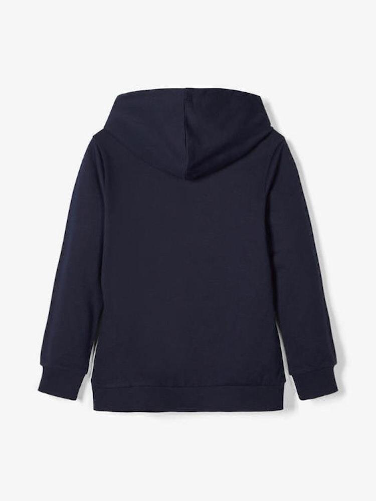 Hoodie blå från NAME IT