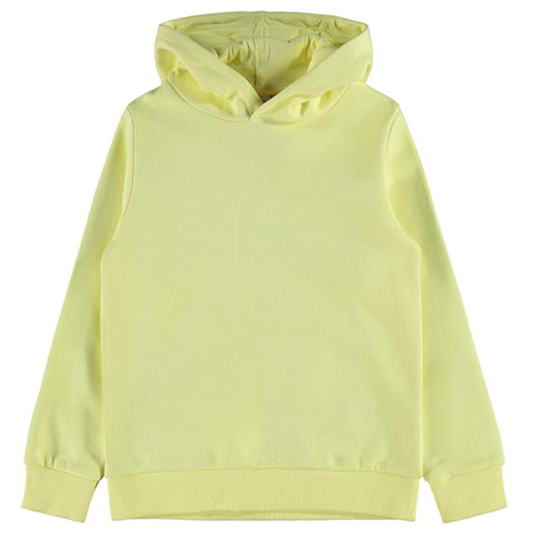 Gul hoodie från NAME IT