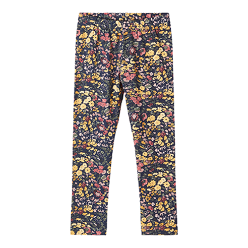 NAME IT - Blommiga leggings