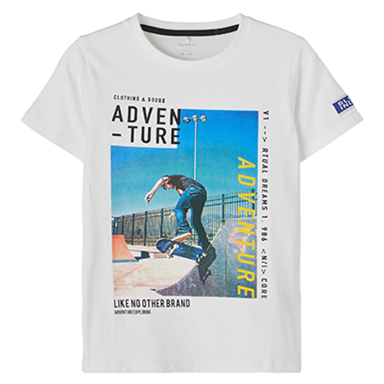 NAME IT - T-shirt med tryck