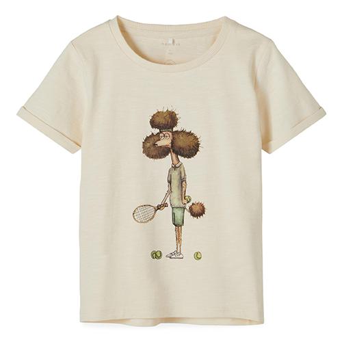 NAME IT - T-shirt med figur