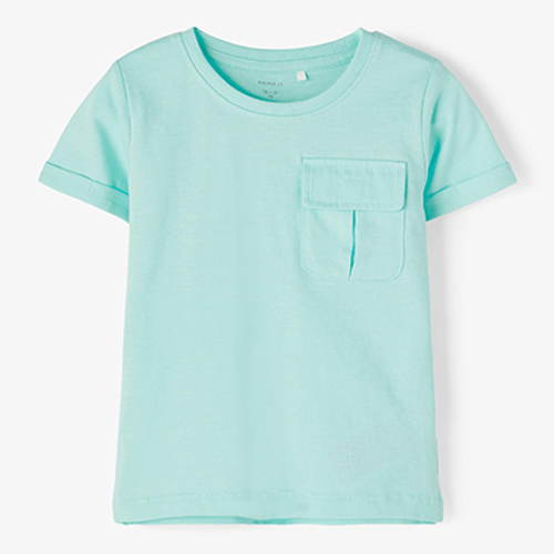 NAME IT - T-shirt med ficka