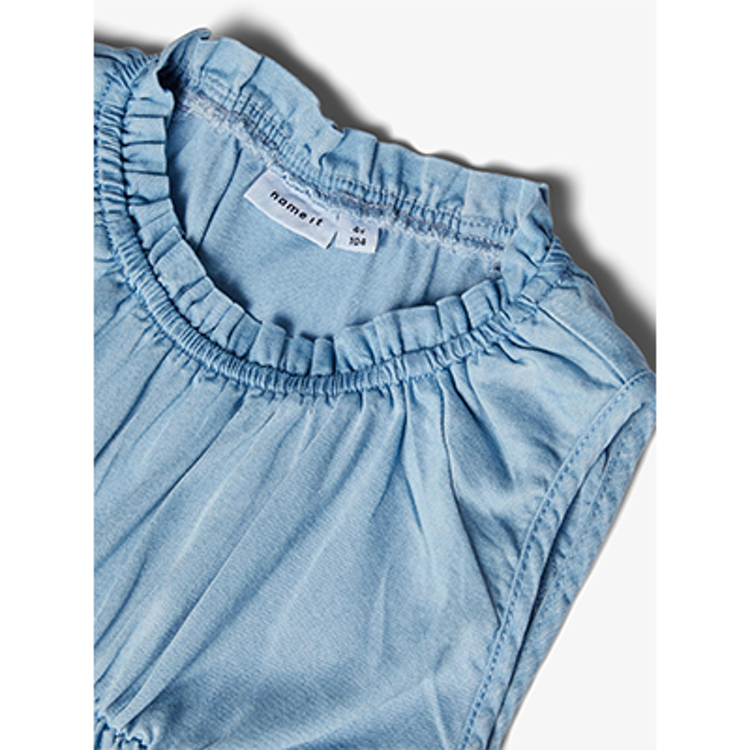 NAME IT - Mjuk jeansklänning