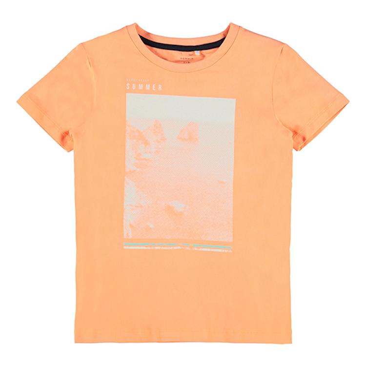 NAME IT - T-shirt orange