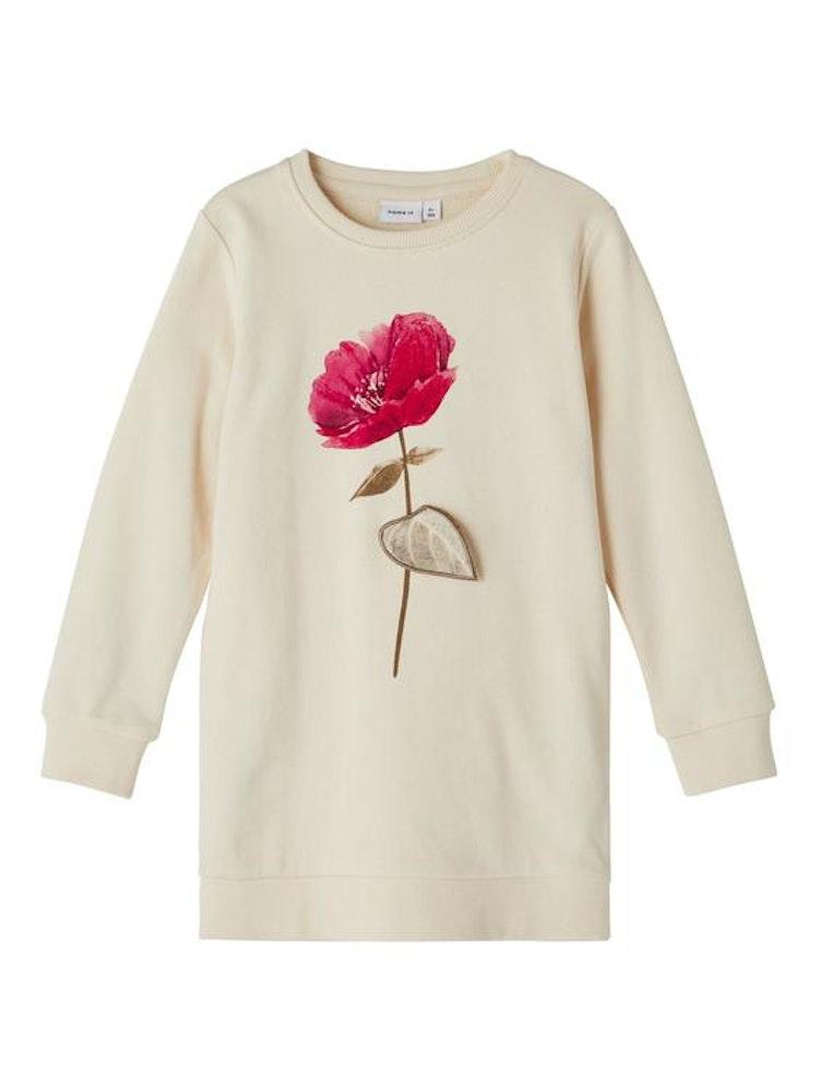NAME IT - Sweatshirt längre modell