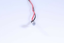 Diode med modstand 5mm ORANGE (10 stk)