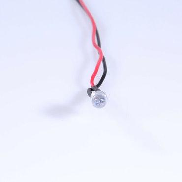 Blink Diode med modstand 3mm ORANGE (10 stk)