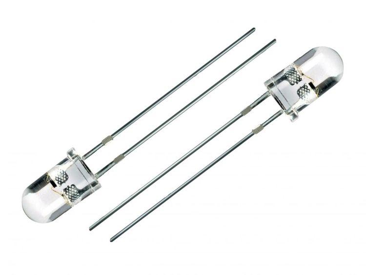 5mm Hvid diode (10 stk)