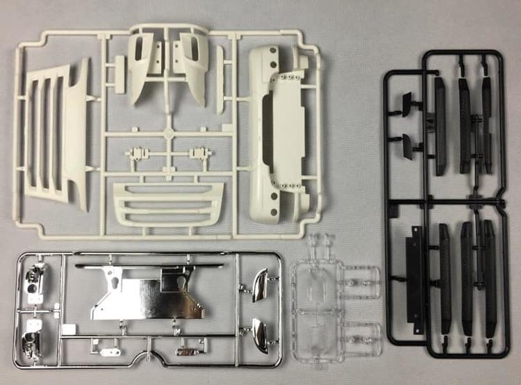 SCANIA facelift kit front til tamiya