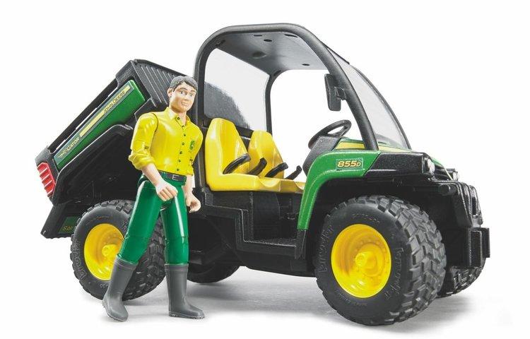 John Deere Gator XUV 855D + Figur