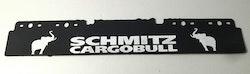 Stænklap lang model med Schmitz cargobull logo og navn