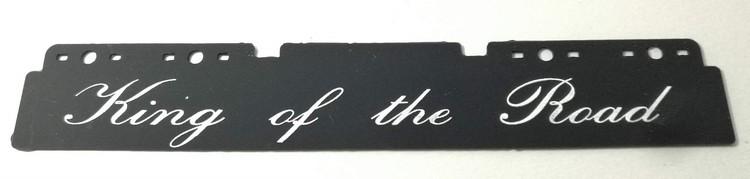 Stænklap lang model med King of the Road logo og navn