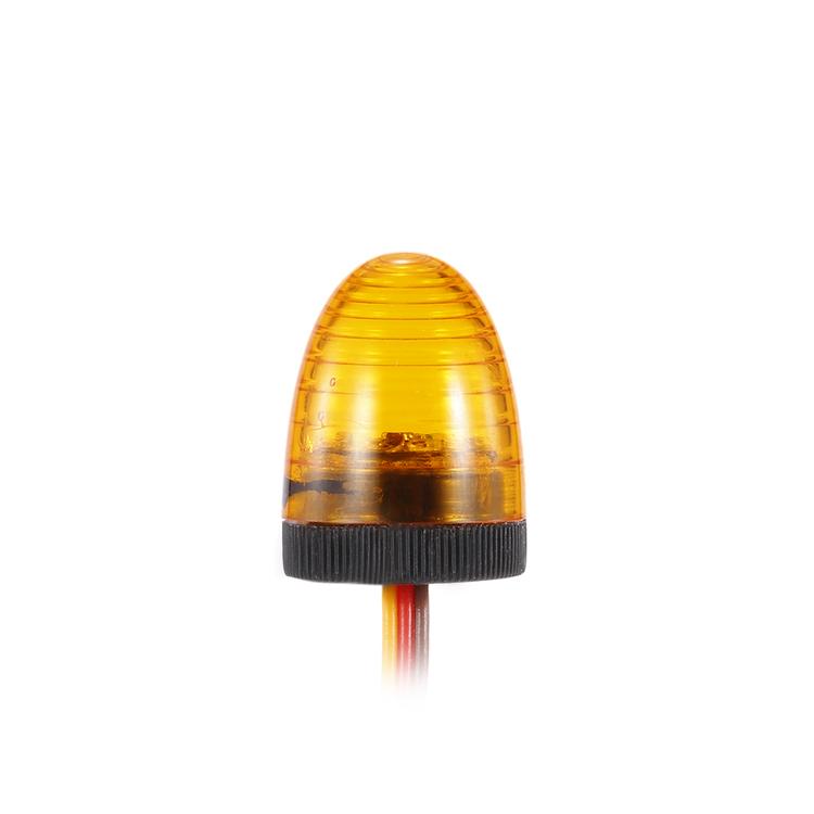 Rotorblink med gult rundt glas