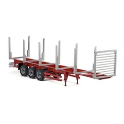 1:14 3-AXLE STANCHION TRAILER II
