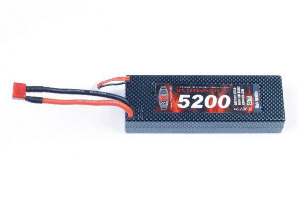 LIPO 7,4V 5200MAH 35C T-PLUG (HARD CASE)