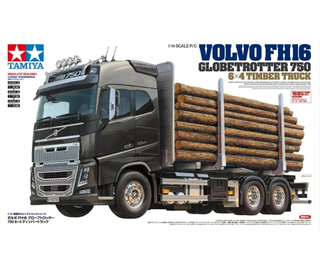 1:14 R/C VOLVO FH16 GLOBETROTTER 750 6X4 TIMBER TR