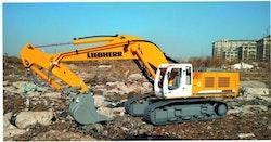 LIEBHERR gravemaskine komplet med hydraulik.