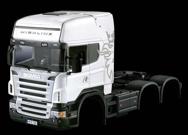 Scania R730 førerhus til 3 akslet trækker TOPLINE