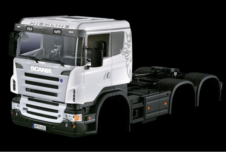 Scania R470 førerhus til 3 akslet trækker lavt førerhus