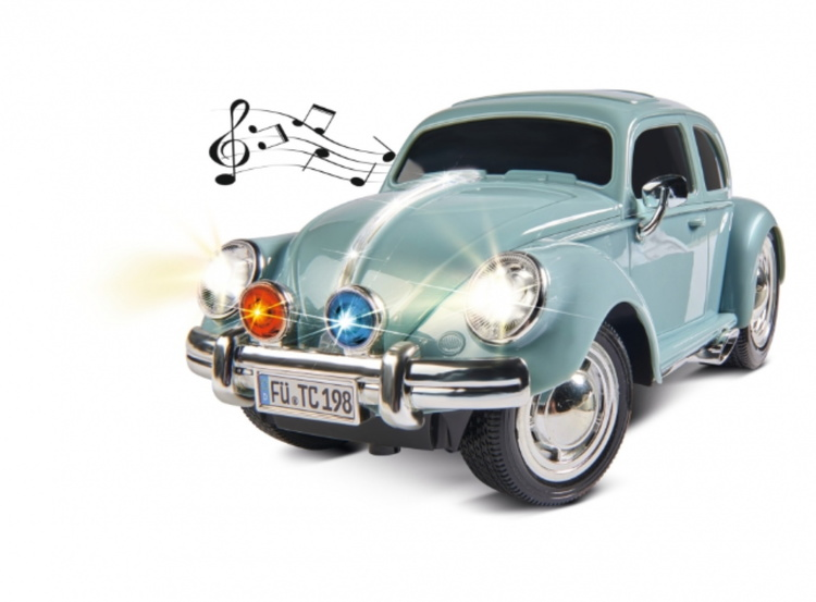 1:14 VW Beetle 2.4GHz 100% RTR pulver blå
