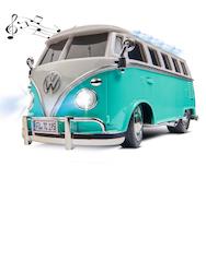 1:14 VWT1 Samba Bus 2.4G 100% RTR turkis