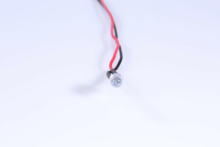 Diode med modstand 3mm HVID (10 stk)