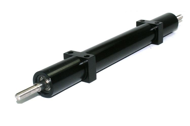 Trailer aksel til tvillingmontering 120 mm