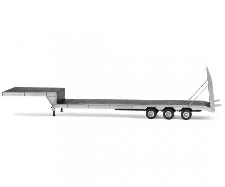 1:14 3-akslet påhængsvogn med. rampe