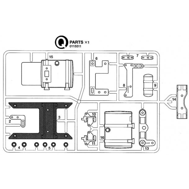 Q PARTS FOR 56323