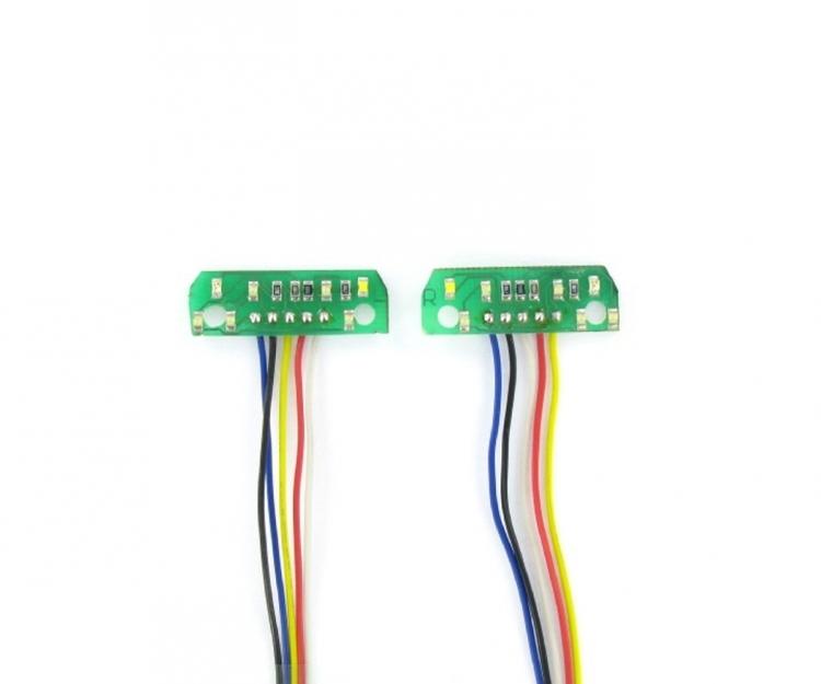 1:14 7,2 volt - 7 kammer LED-print