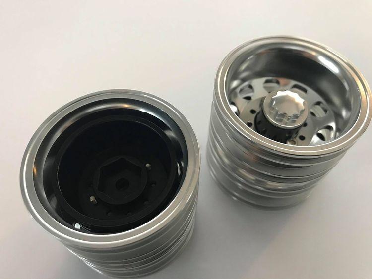 XS aluminium bagfælge 1:14