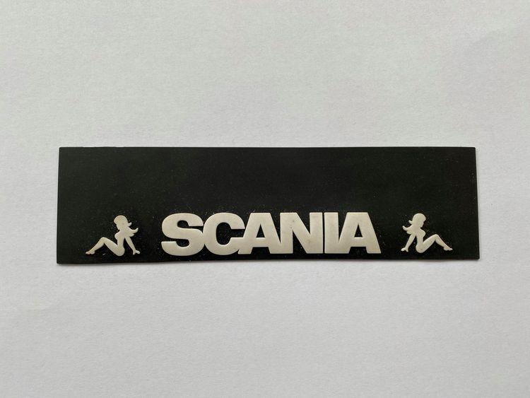 Stænklap lang model med SCANIA & BABE