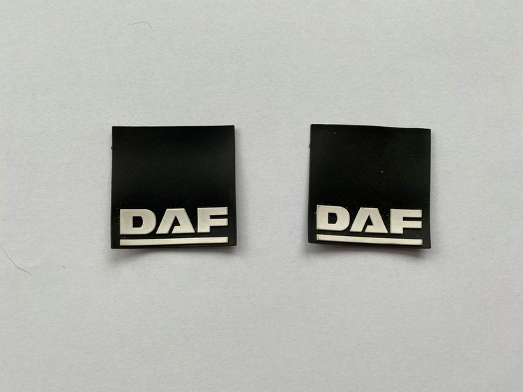 Stænklapper lille model med DAF (2 stk)