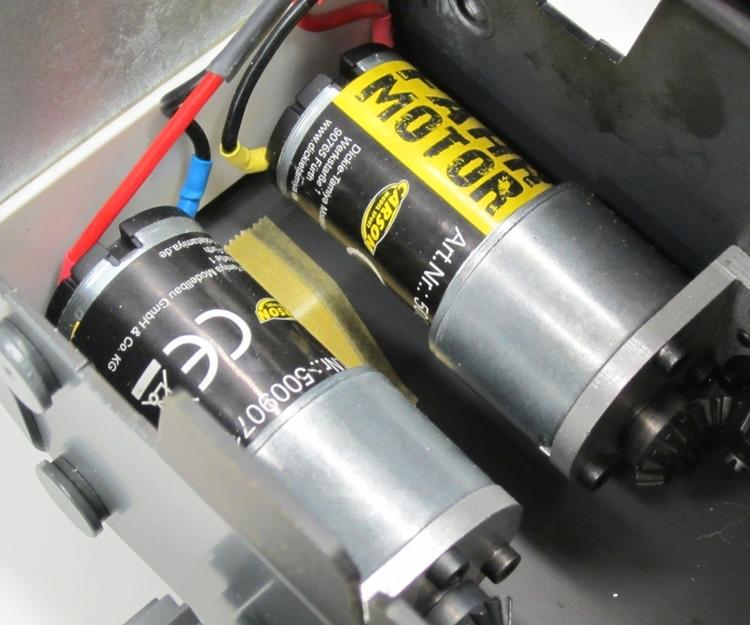 Kør gearmotor Liebherr larvebåndslæsser (1 stk)