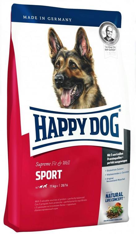 HAPPY DOG SUPREME FIT & WELL SPORT ADULT 15KG
