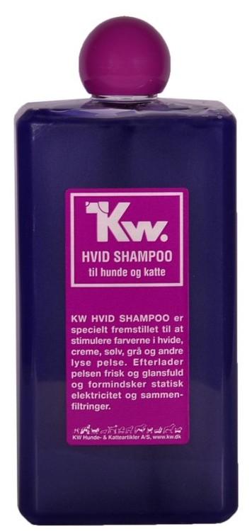 KW Hvit shampo 500ml